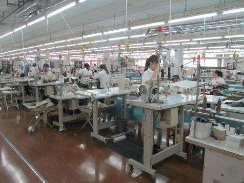 针对大型服装企业的生产流程管理系统