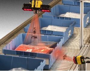 工业读码器自动检测商品条码实现产线自动化