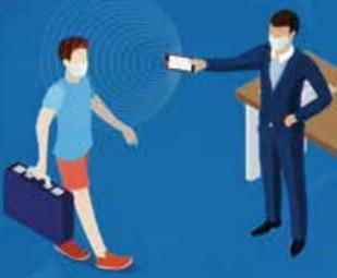 """助力海关、机场防疫,""""云测温PDA""""支持全球护照信息读取!"""