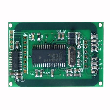 天线一体MFRC500开发的IC卡读写模块IVY500D