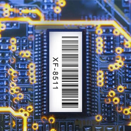 低成本耐高温标签材料